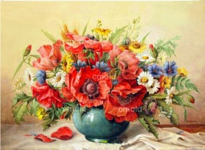 Диамантени гоблени Полски цветя